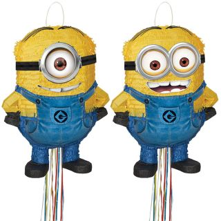 Despicable Me 2   Shaped Pull String Pinata Asst.