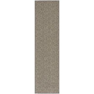 Diamonds Natural Sisal Wool Rug (2x 8)