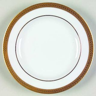 Block China Manchester Gold Bread & Butter Plate, Fine China Dinnerware   Gold E
