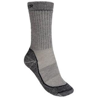 gravel gear nonbinding merino wool crew socks