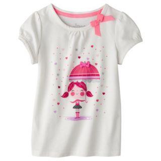 Circo Infant Toddler Girls Short sleeve Tee Shirt   Polar Bear 4T