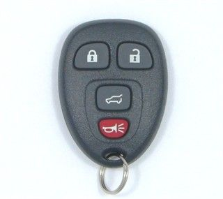 2010 Buick Enclave Keyless Entry Remote w/ Rear Glass