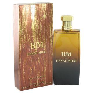 Hanae Mori Him for Men by Hanae Mori Eau De Parfum Spray 3.4 oz