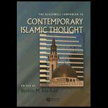 Blackwell Companion to Contemporary Islamic