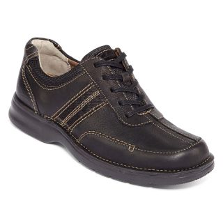 Clarks Slone Mens Leather Shoes, Blk Oily L