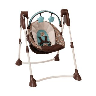 ... Graco Swing By Me Portable Swing Little Hoot ...