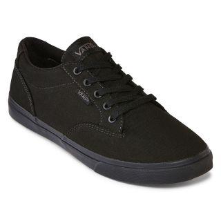 Vans Winston Low Skate Shoes, Black, Womens