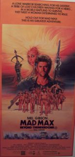 Mad Max Beyond Thunderdome (Australian Daybill) Poster
