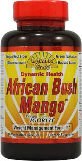 Dynamic Health African Bush Mango   60 Vcaps