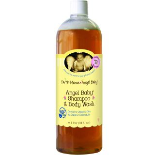 Earth Mama Angel Baby Angel Baby Shampoo & Body Wash    34 oz
