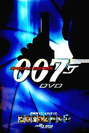 James Bond (Dvd Poster) Movie Poster