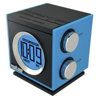 SDI Technologies Retro Dual Alarm Clock Radio   Blue (RT205L)