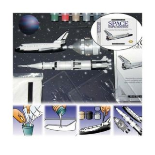 Eyewitness Space Exploration Casting Kit (Space Shuttle/ Command Module/ Saturn
