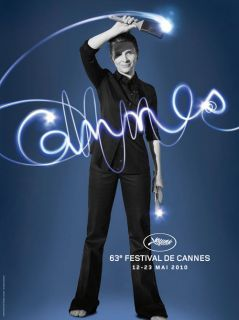 CANNES Film Festival 2010 Medium Poster (French Rolled)
