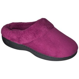 Womens Isotoner Collette Slipper   Burgundy S