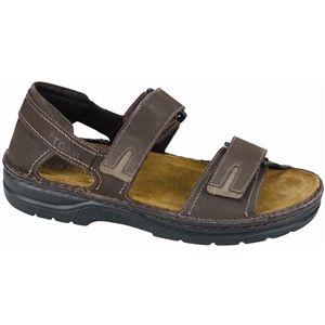Naot Mens Martin Oily Brown Nubuck Moss Sandals, Size 47 M   69900 S5A