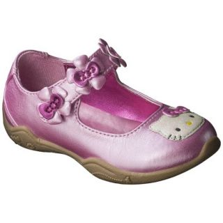 Toddler Girls Hello Kitty Mary Jane Shoe   Pink 9