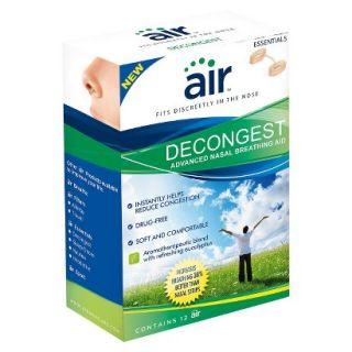 air DECONGEST   Drug Free Decongestant Nasal Breathing Aid, 12 ct