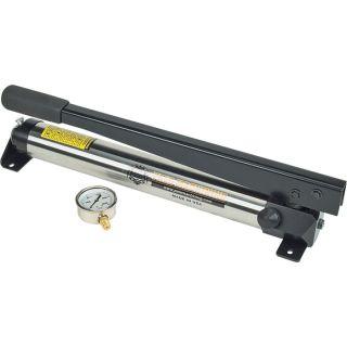 Pals Machining Hydraulic Hand Pump   10,000 PSI, 1/2 Inch Piston