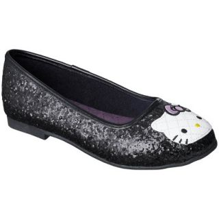 Girls Hello Kitty Ballet   Black 3