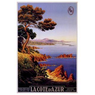 Art   La Cote dAzur Framed Poster