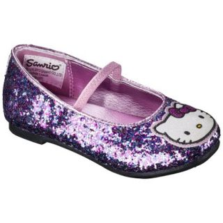 Toddler Girls Hello Kitty Ballet Flat   Multicolored 7