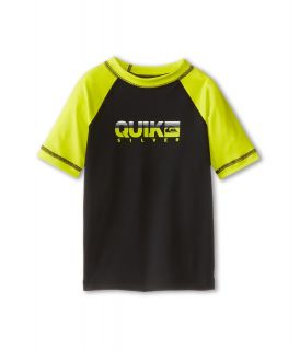 Quiksilver Kids Extra S/S Surf Shirt Boys Swimwear (Black)