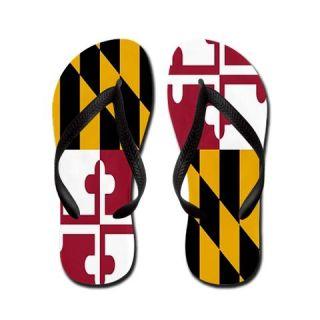 51104f70fecd Maryland State Flag Flip Flops