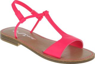Infant/Toddler Girls Nina Gabby   Neon Pink Nappa Sandals