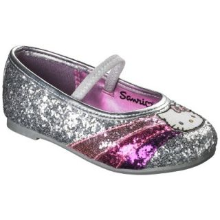 Toddler Girls Hello Kitty Ballet   Silver 6