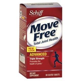 Schiff Move Free Joint Health Advanced Triple Strength Tablets   80 Count