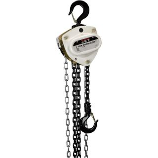 JET Hand Chain Hoist   1 Ton Capacity, Model 104220