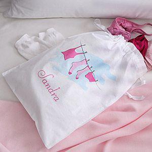 Ladies Personalized Travel Laundry Bag