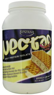 Syntrax   Nectar Sweets Whey Protein Isolate Vanilla Bean Torte   2.04 lbs.