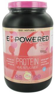 Empowered Nutrition   100% Natural Protein Powder Vanilla Vacation   2.05 lbs.