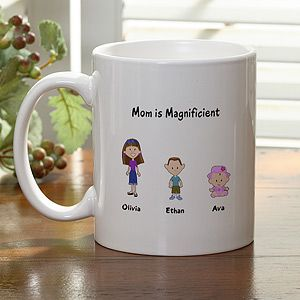 Personalized Coffee Mugs   Family Cartoon Characters