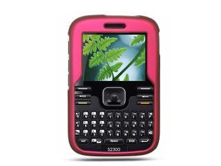 Kyocera Loft/Kyocera Torino S2300 Hot Pink Crystal Rubberized Case