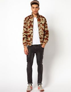 Adidas Originals  Adidas Originals Jacket with Camo print