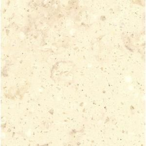 Corian 2 in. Solid Surface Countertop Sample in Clam Shell C930 15202CL