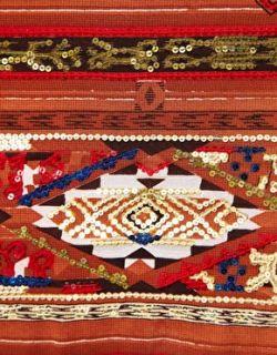 Prophecy  Minifalda con adornos y estampado azteca de Prophecy en