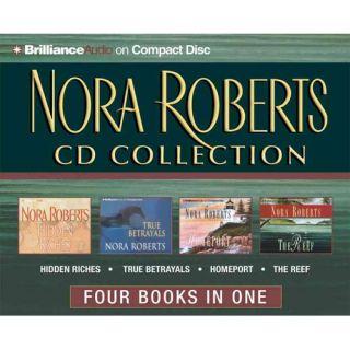 Nora Roberts CD Collection Hidden Riches/True Betrayals/Homeport/The Reef, Roberts, Nora Romance