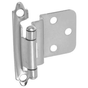 Stanley National Hardware Standard Spring Cabinet Hinge in Satin Nickel BB8195 SPR CAB HNG OFSSN