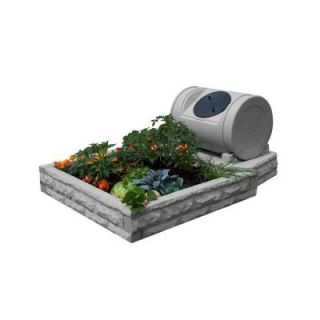 Good Ideas Hybrid Light Granite Raised Garden Bed GW RBGH LG