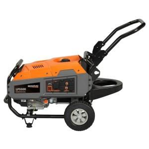 Generac LP5500 5500 Watt Liquid Propane Powered Portable Generator 6001