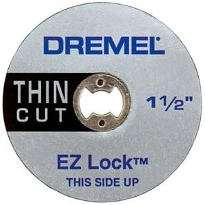 Dremel EZ Lock Thin Metal Cut Off Wheel EZ409