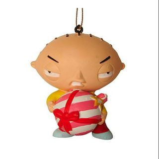 3.25 Family Guy Stewie Griffin with Bomb Christmas Ornament: Christmas Decor