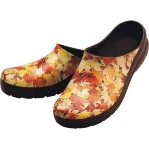 Jollys Womens Autumn Leaves Picture Clogs   Size 10 LPC AUTM 40