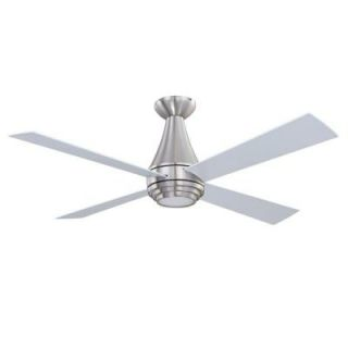 Designers Choice Collection Novo 50 in. Satin Nickel Ceiling Fan AC18250 SN