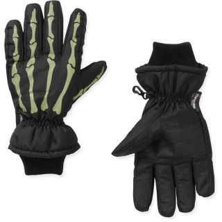 Faded Glory Boys Glow in the Dark Skeleton Glove