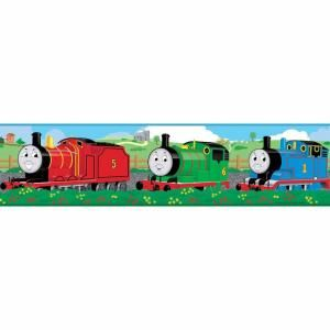 RoomMates Thomas and Friends Peel and Stick Border RMK1034BCS